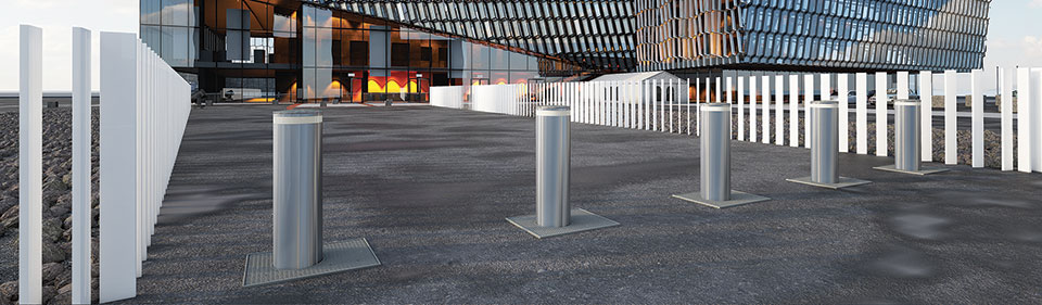render faac J355 HA M50 2 1 - Traffic Bollards - Vehicle Access Control System